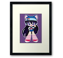 Kawaii Yuma Framed Print