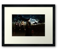 Casquette Brides the Arrival Framed Print