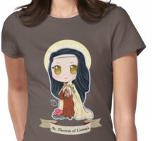 Chibi St. Therese Of Lisieux Womens Fitted T-Shirt
