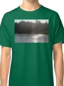 view across Trojan pond, near Goble, Oregon with flare Classic T-Shirt