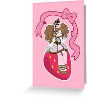 Sweet Lolita Greeting Card