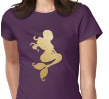 Mermaid in Gradient Womens Fitted T-Shirt