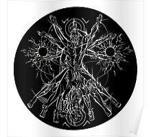 Vitruvian Coupling Dark Poster