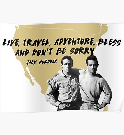 On the Road - Jack Kerouac Poster