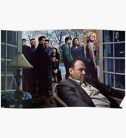 The Sopranos Poster