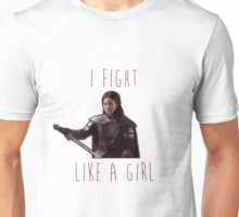 Mulan - I fight like a girl Unisex T-Shirt