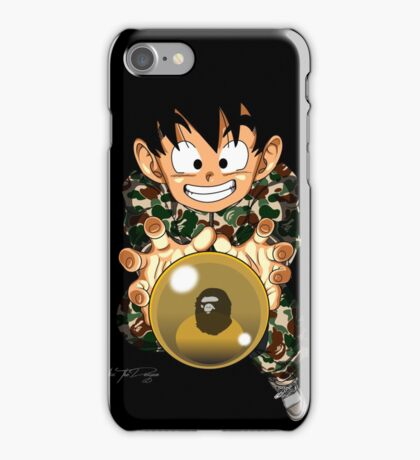 Goten x Bape iPhone Case/Skin