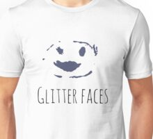 Glitter Faces Unisex T-Shirt