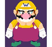 Wario - Pixel Art Photographic Print