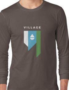 Bay Village Ohio Tapered Flag Long Sleeve T-Shirt