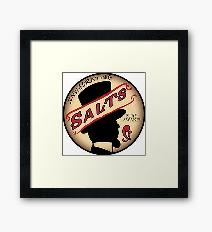 InVIGORating Salts Framed Print