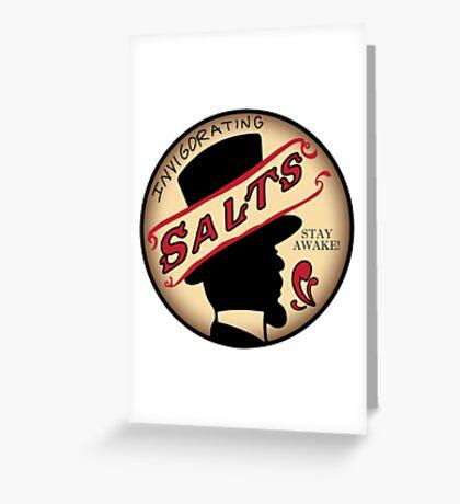 InVIGORating Salts Greeting Card