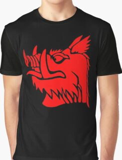 Black knight boar Graphic T-Shirt