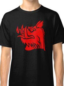 Black knight boar Classic T-Shirt