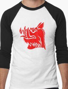 Black knight boar Men's Baseball ¾ T-Shirt