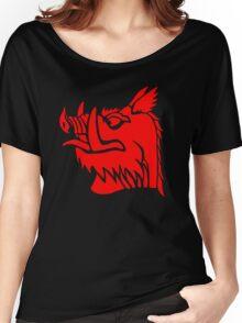 Black knight boar Women's Relaxed Fit T-Shirt