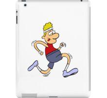 Jogger Jim iPad Case/Skin