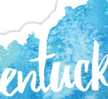 Kentucky - Light blue watercolor Sticker