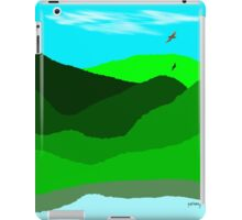 Landscape in a quiet day iPad Case/Skin