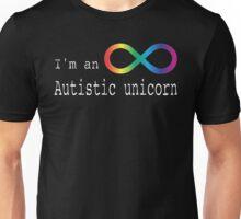 Autistic Unicorn Unisex T-Shirt