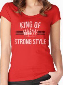 King of Stong Style Women's Fitted Scoop T-Shirt