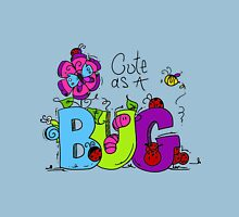 Cute as a Bug Insects Womens Fitted T-Shirt