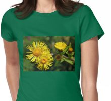 Inula Helenium Womens Fitted T-Shirt