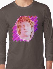 VAPORWAVE MAN  Long Sleeve T-Shirt
