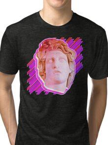 VAPORWAVE MAN  Tri-blend T-Shirt