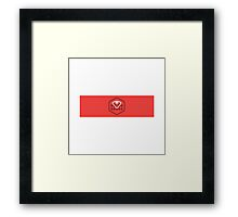 Ruby on rails Framed Print