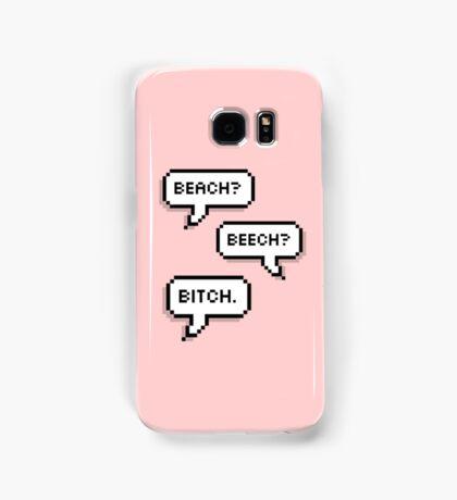 "BTS - V & Jimin ""Beach? Beech? B*tch.""  Samsung Galaxy Case/Skin"