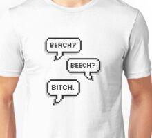 """BTS - V & Jimin """"Beach? Beech? B*tch.""""  Unisex T-Shirt"""