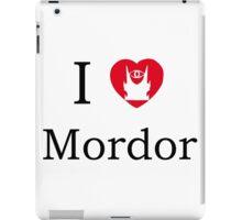 I love Mordor iPad Case/Skin
