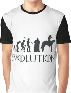 Evolution Game of thrones Graphic T-Shirt