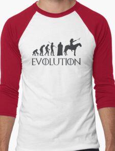 Evolution Game of thrones Men's Baseball ¾ T-Shirt