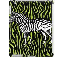 Zebra - animal colour pop art iPad Case/Skin