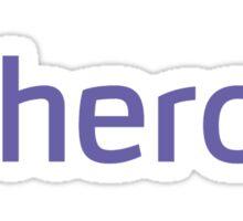 Heroku Sticker