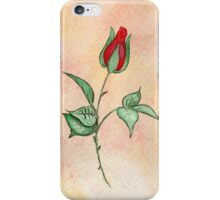 Rosebud Tee & more iPhone Case/Skin