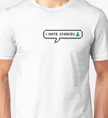 """BTS - Jhope """"i hate snakeu"""" Unisex T-Shirt"""