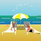 Beach girls by telberry
