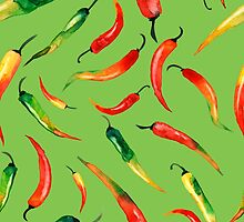 - Chilli pattern (green) - by Losenko  Mila