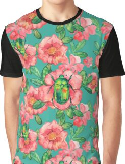 - Wild rose pattern - Graphic T-Shirt