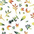 - Watercolor pattern - by Losenko  Mila