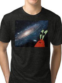 Space crab Tri-blend T-Shirt