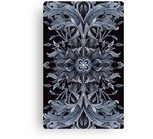 - Black pattern - Canvas Print