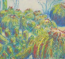 Cactus Patch (Pastel) by Niki Hilsabeck