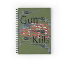 Gun kills America Spiral Notebook