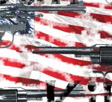 Gun kills America Sticker