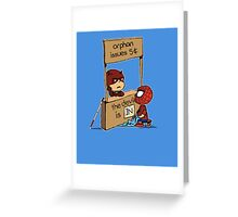 The Devil Is In Greeting Card