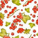 - Watercolor redcurrant 2 - by Losenko  Mila